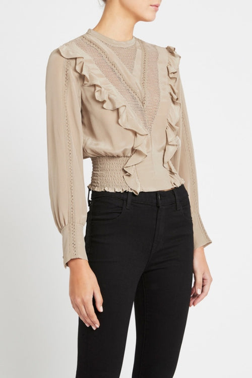 IRO | Suite Top - Khaki