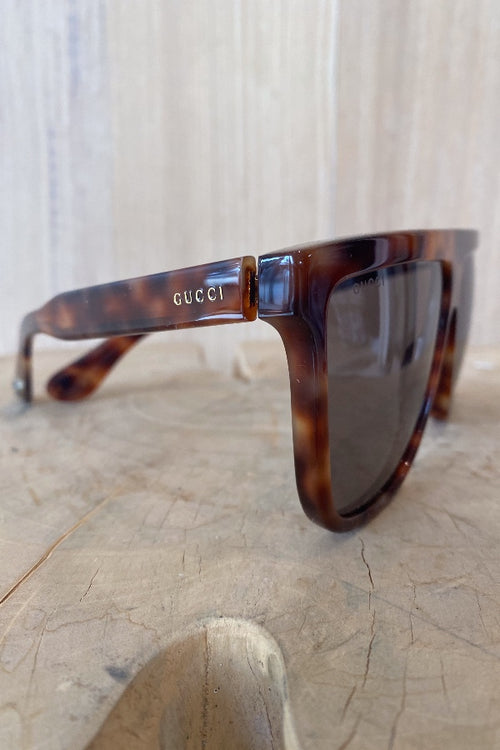 Gucci | GG0582S003 - Havana Tortoise Frame with Brown Lens