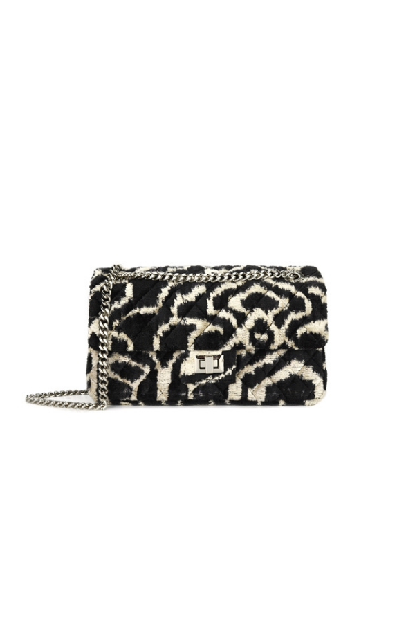 Rough Studios | Velvet Bandita Bag - Black beige