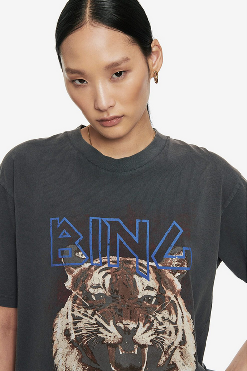 ANINE BING | Tiger T - Black
