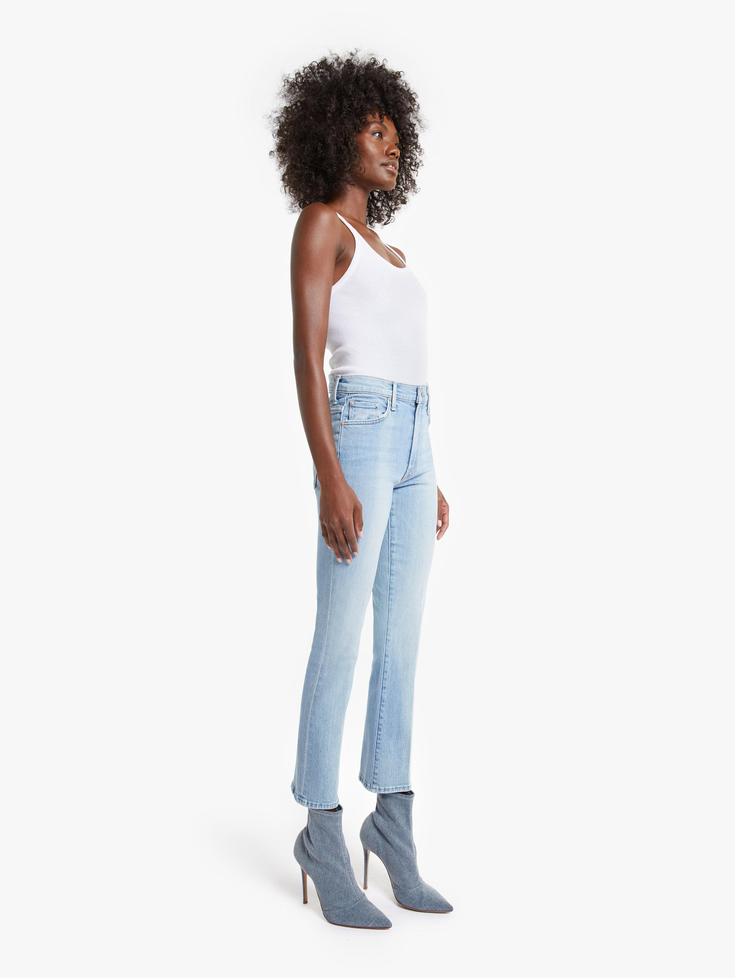 Mother Denim | The Insider Ankle - Zapped