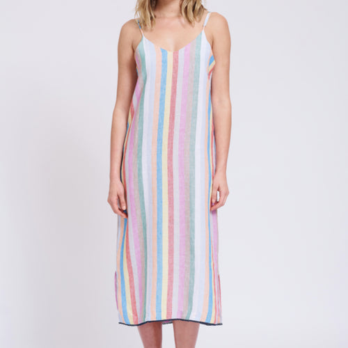 Alessandra | Rainbow Beach Dress
