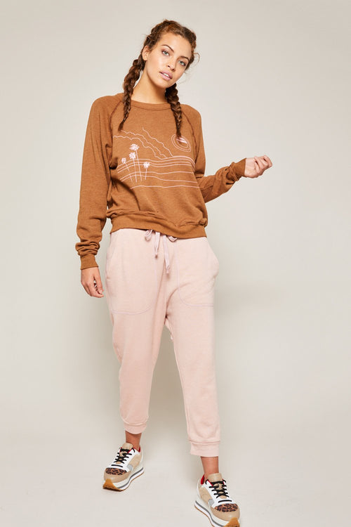 ATF | Solid Lounge Sweats - Dusty Rose