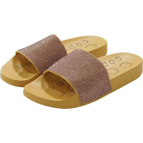 Coster | Slippers w. glitter