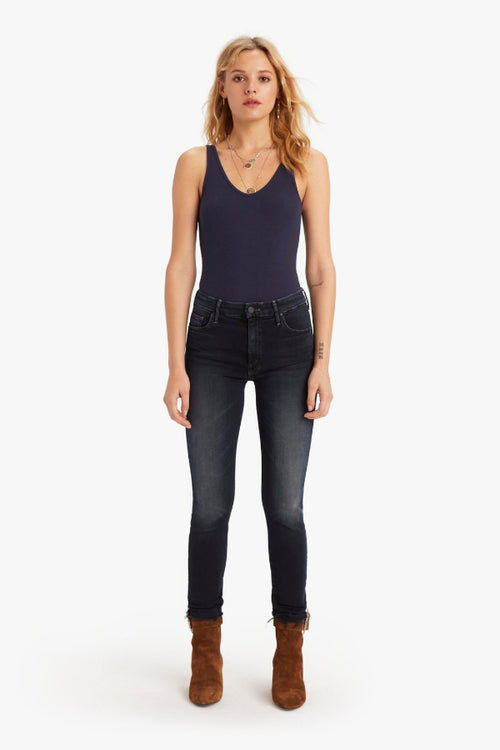 Mother Denim | High Waisted Looker Fray