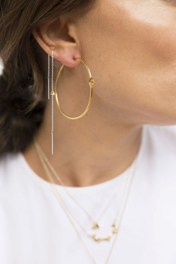 CA Jewellery | Pyramid Convertible Earrings