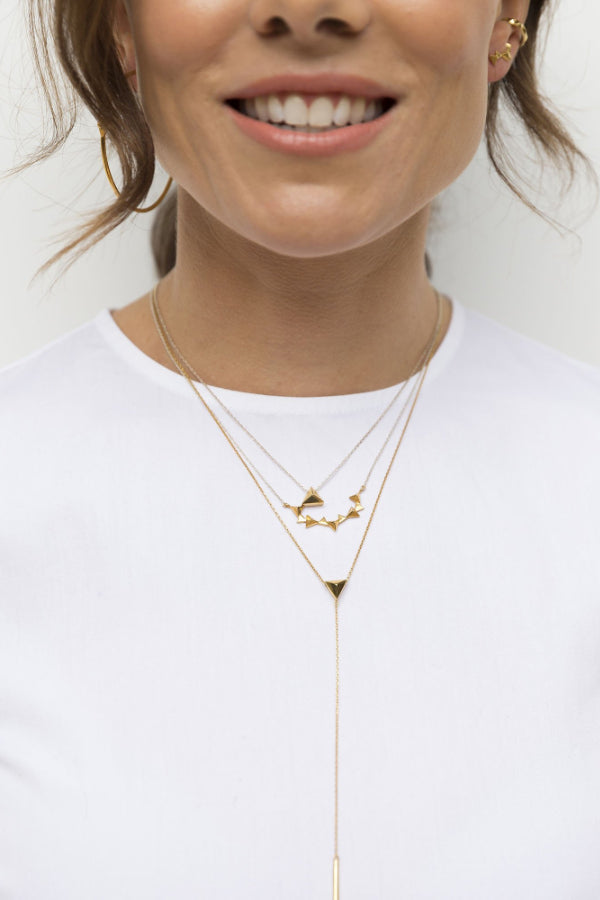 CA Jewellery | Pyramid Pendant Necklace