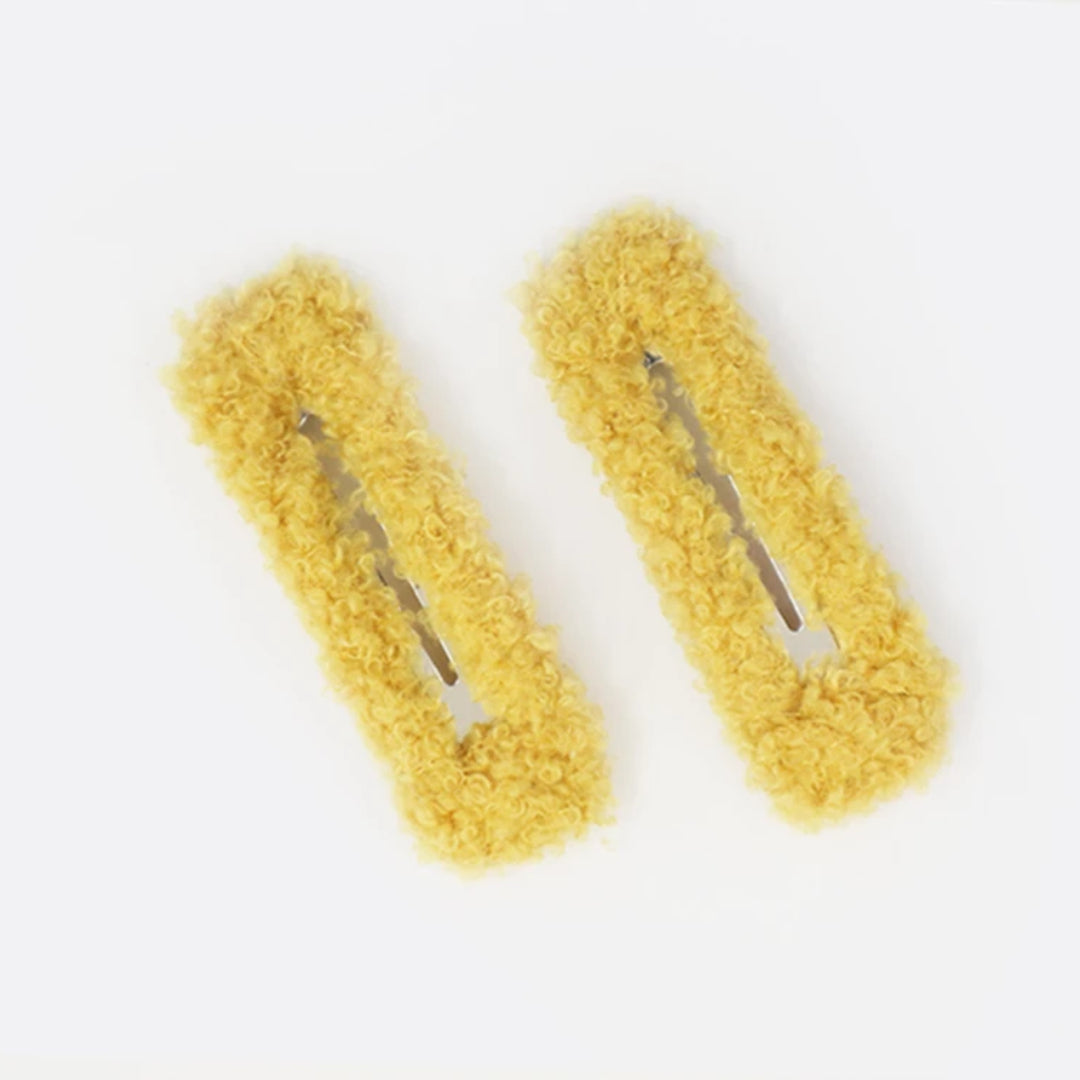 Valet Studio | Joline Clips Pair - Yellow