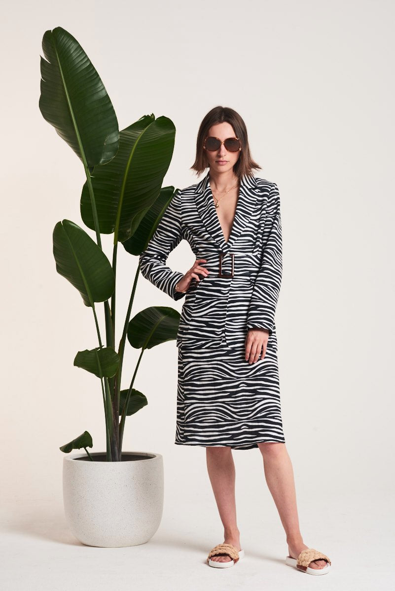 Le Stripe | Out of Africa Safari Jacket