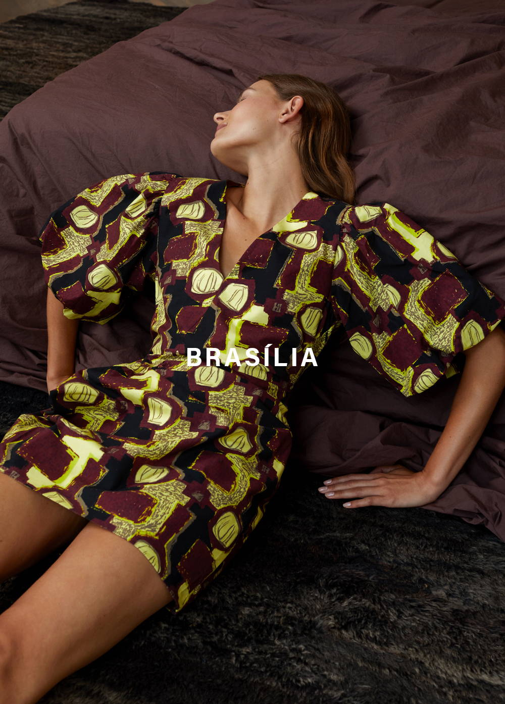 LCDP | Lily Dress - Brasilia Art Print