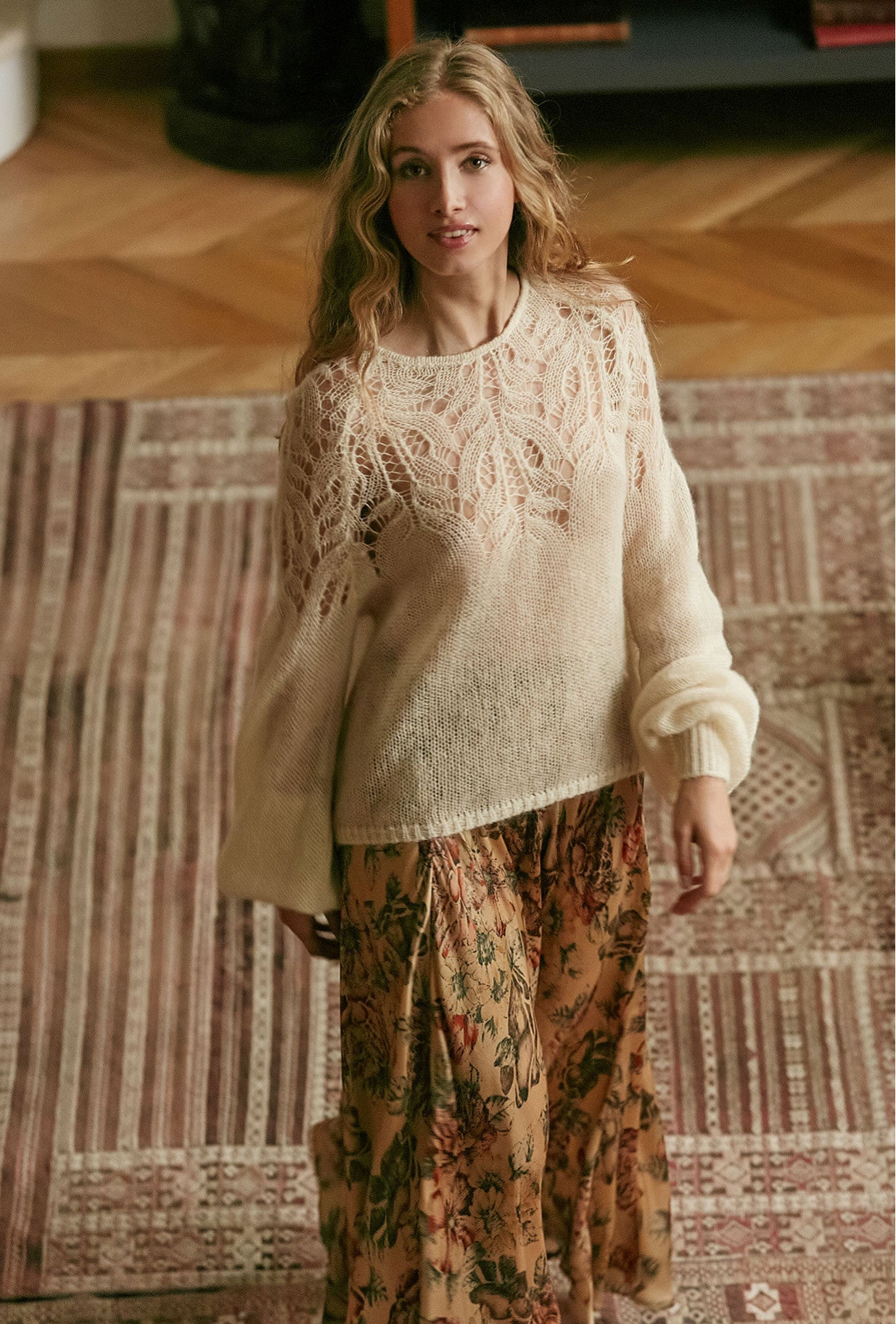 Mes Demoiselles | Vivienne Sweater - Blush