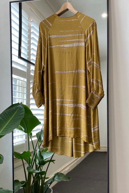 Rabens Saloner | Sahara Raglan Dress