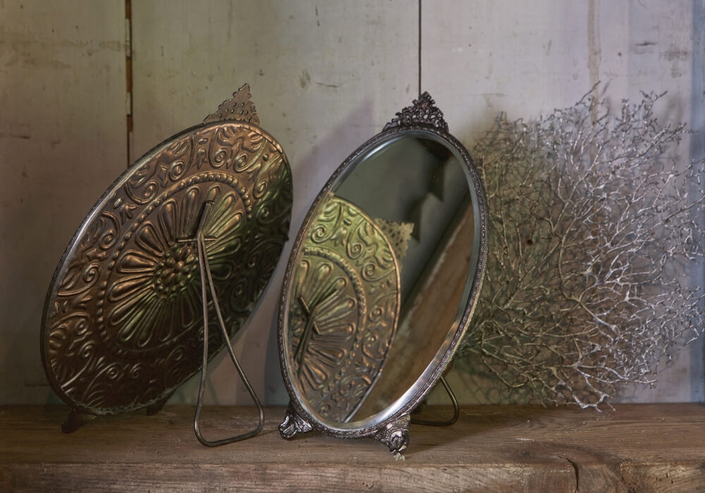 Vintage Retro Industrial Mirrors