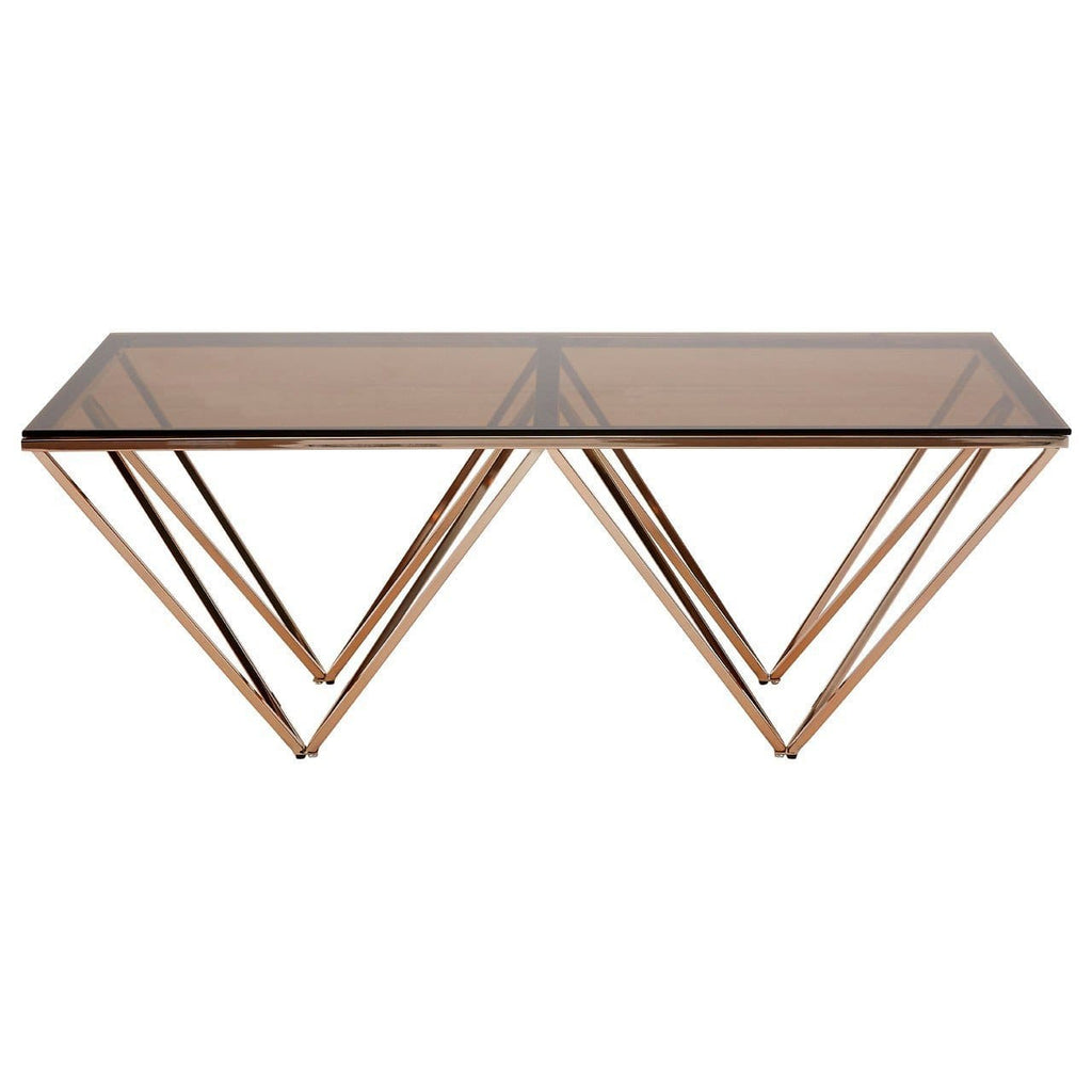 Allure Glass Coffee Table - Coffee Table