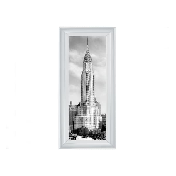 Chrysler Building NYC Art Framed Graphic Print - Wall Art