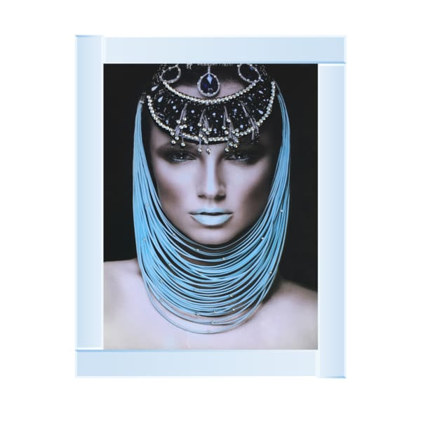 Egypt Lady Jewels 1 Art Framed Graphic Print - Wall Art
