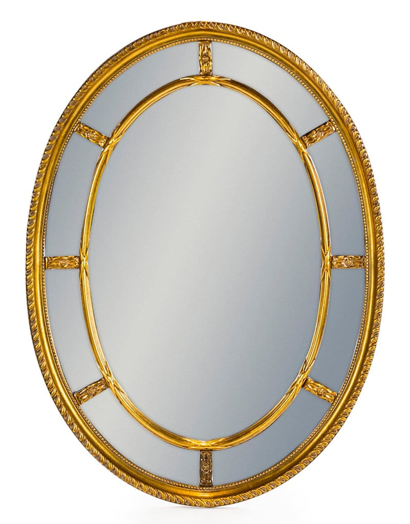 Gold Oval Multi Mirror - Mirror