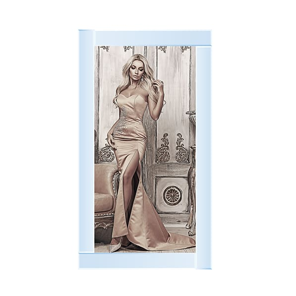 Lady At The Ball 2 Art Framed Graphic Print - Wall Art