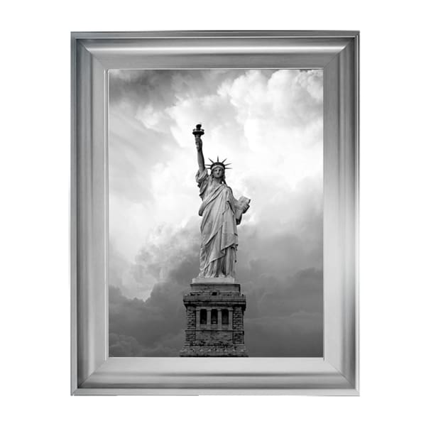 Majestic Lady Statue Of Liberty Art Framed Graphic Print - Wall Art