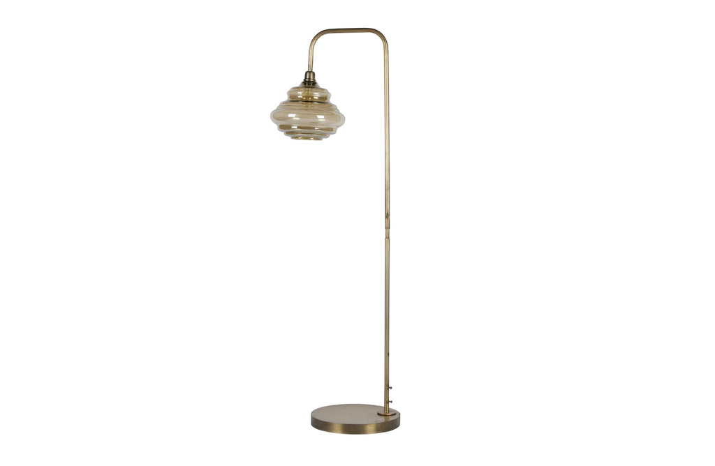 Obvious Antique Brass Metal Floor Lamp by BePureHome - Floor Lamp