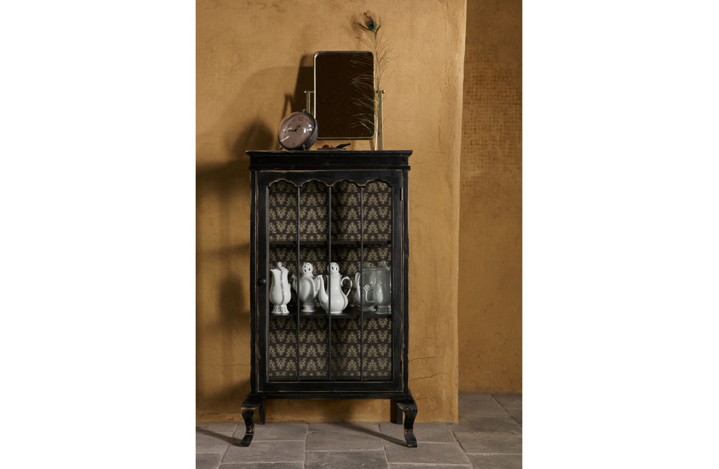Odd Black Wood Cabinet by BePureHome - Storage Cabinet