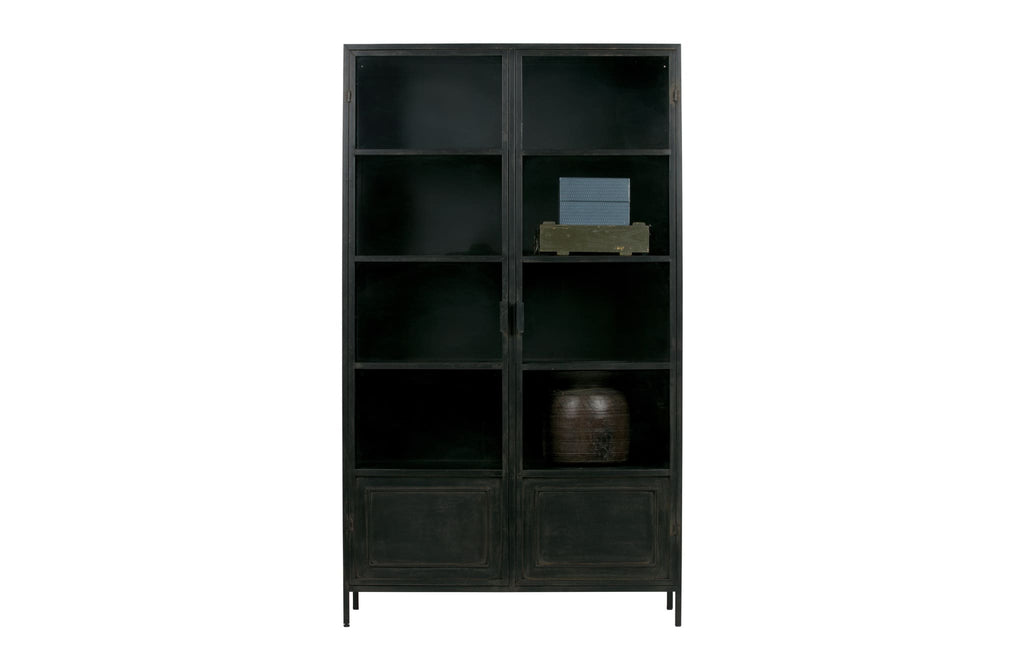 Ronja XL Black Metal Cabinet by Woood - Storage Cabinet
