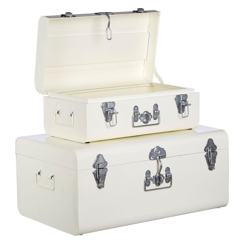 Storage Trunks - White - Box Trunks