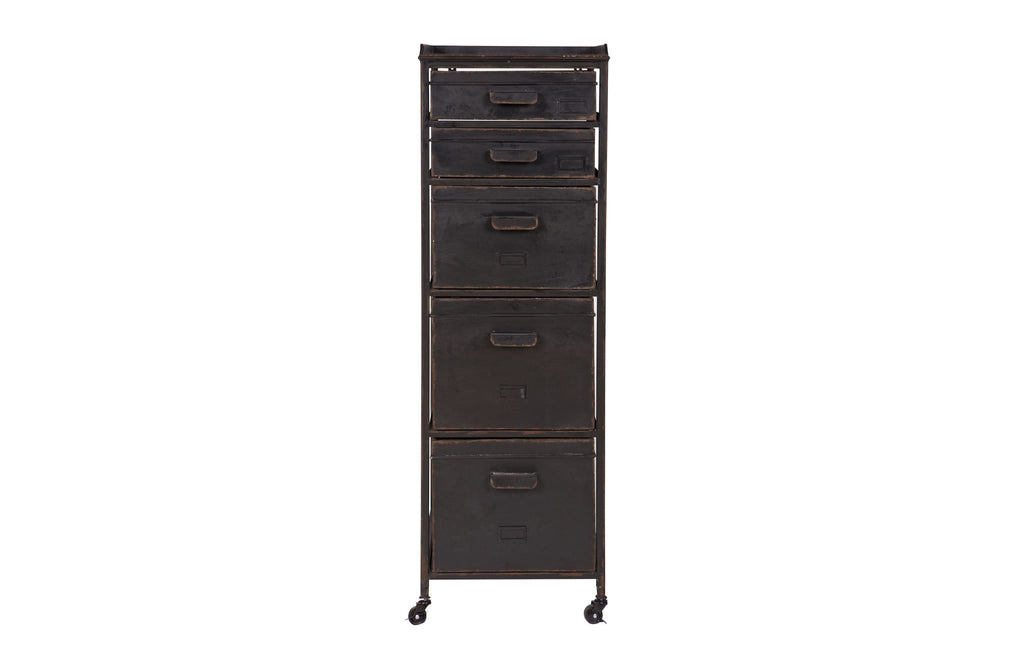 Stuff Black Metal Cabinet by BePureHome - Chest of Drawer