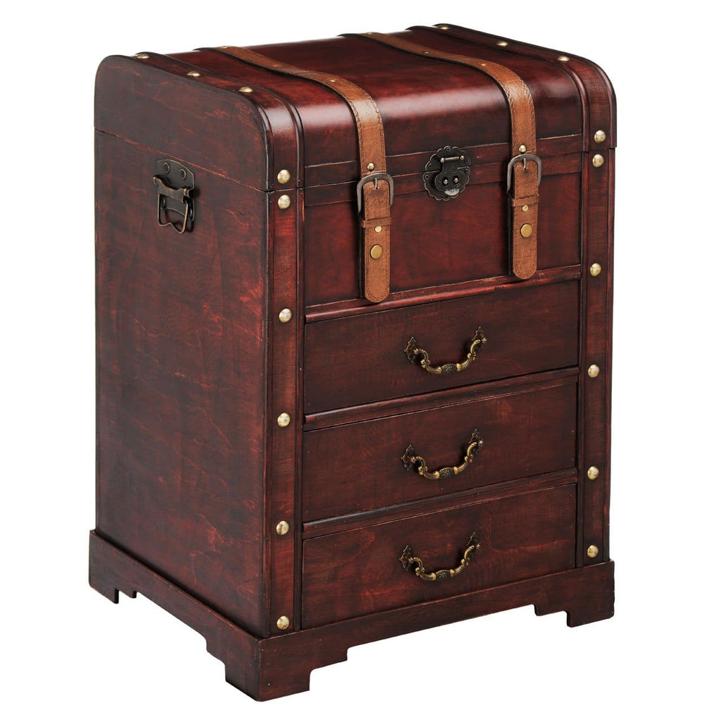 Travel Trunk Cabinet - Box Trunks