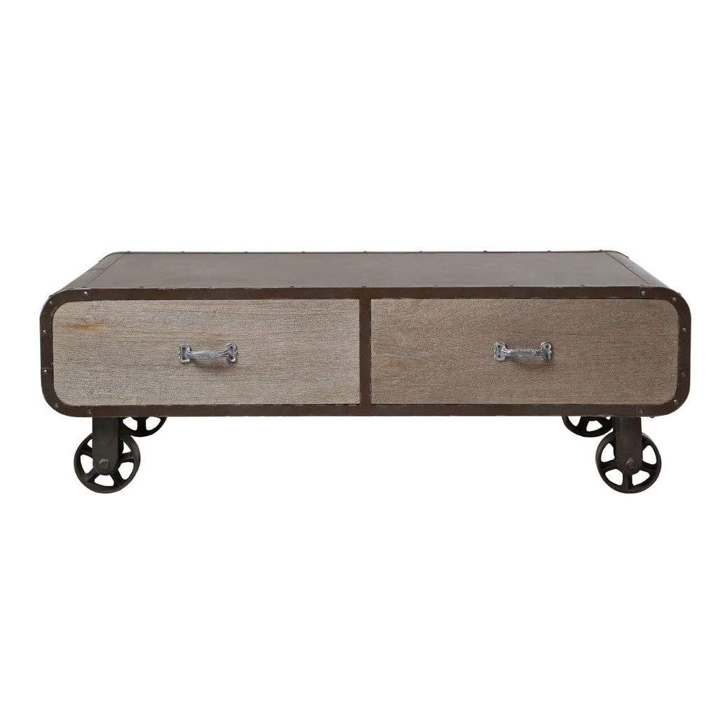 Vintage Voyager Coffee Table - Coffee Table