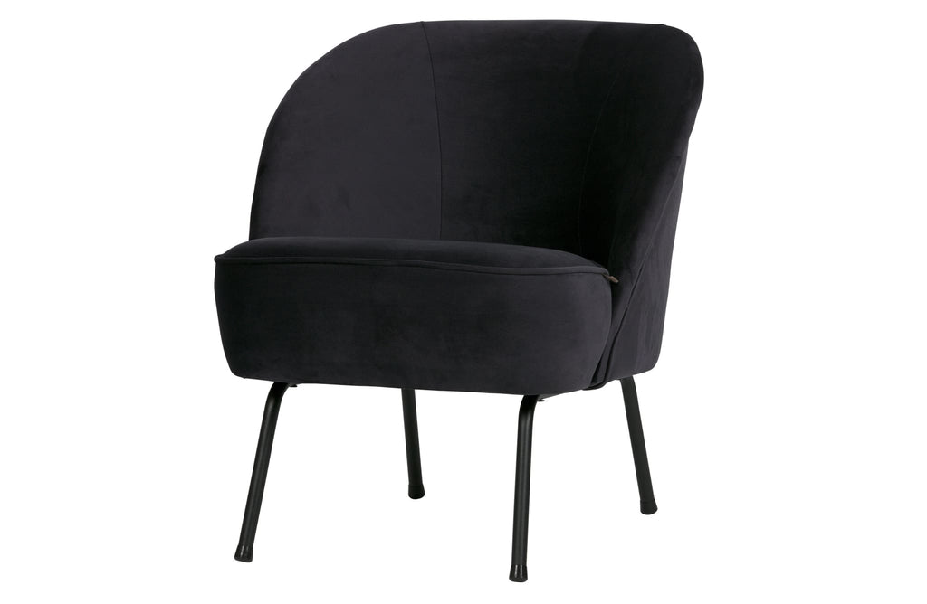 Vogue Blue Ink Velvet Armchair By BePureHome - Armchair