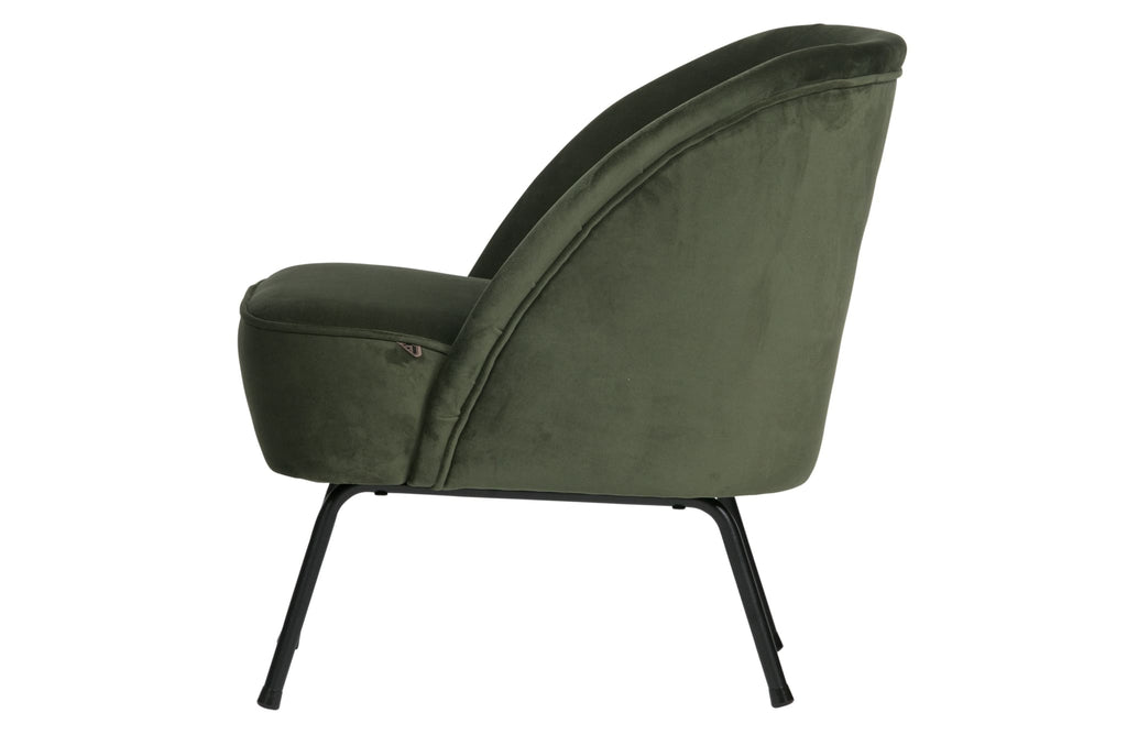 Vogue Green Velvet Armchair By BePureHome - Armchair