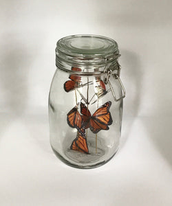 Small Butterfly Jar