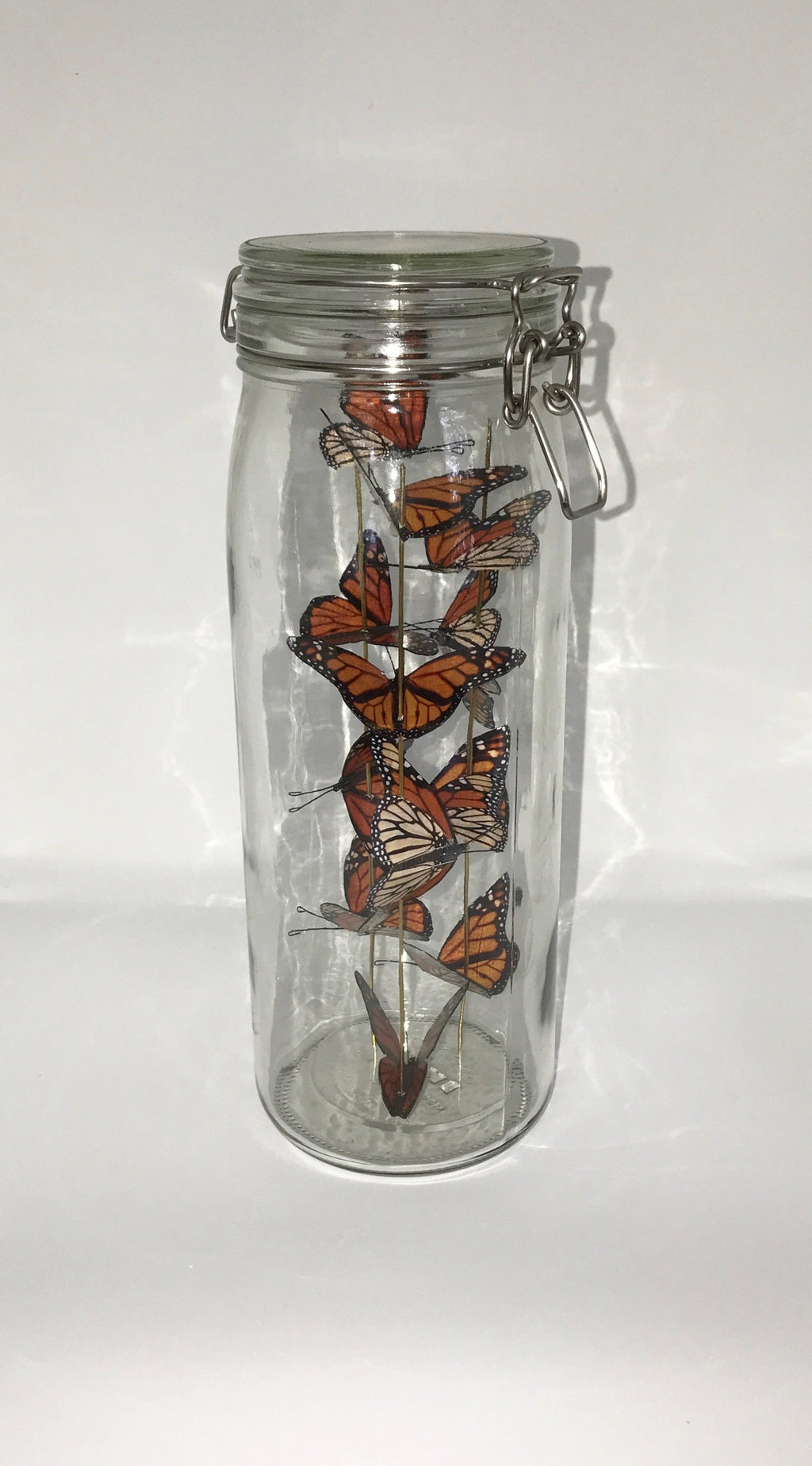 Large Butterfly Jar