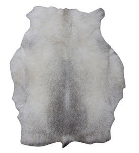 White Spotted Russian Reindeer Hide