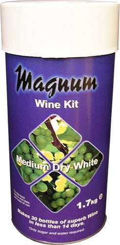 Magnum Medium Dry White Wine