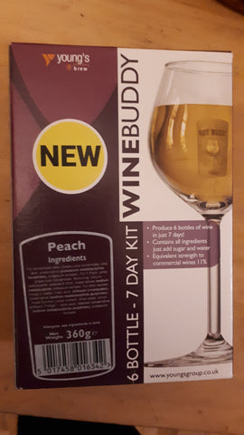Winebuddy Peach 6 Bottles