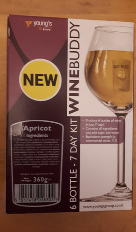 Winebuddy Apricot 6 Bottles