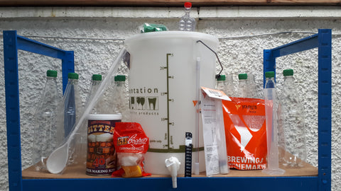Homebrew All You Need Starter Kit with Beer