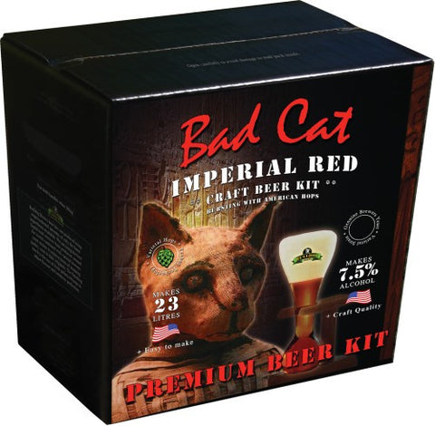 Bulldog Brews Bad Cat Imperial Red