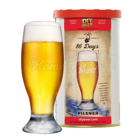 Coopers Premium Selection 86 Days Pilsner