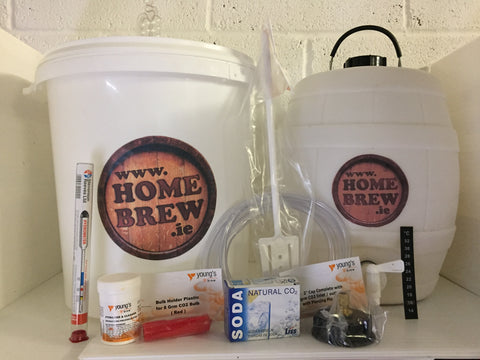 Homebrew.ie Starter Pack including Barrel including Co2