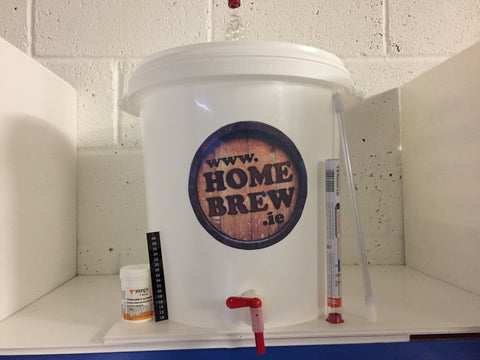 Homebrew.ie Budget Beer and Cider Starter Kit.