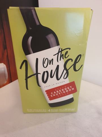 On The House cabinet sauvignon 30 Bottle