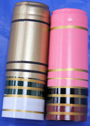 Shrink Caps 30 Pack Mixed Colours with Gold Band