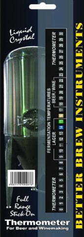 Better Brew Full Range LCD Thermostat Stick on