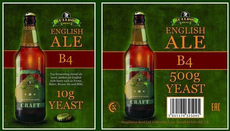 Bulldog B4 English Ale 10g