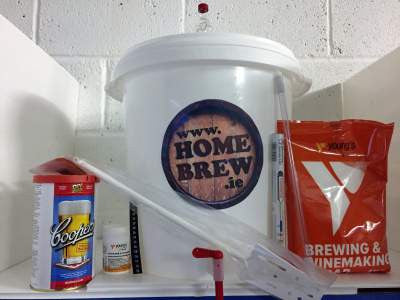 Homebrew Starter Kit including Coopers Beer