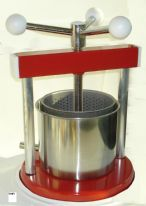 Fruit Press Stainless Steel & Painted Metal 1.5 Litre.