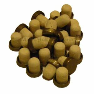 Plastic Gold Top Stopper Corks 25s